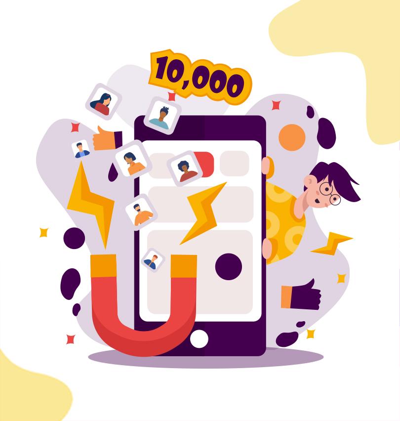 10000 customers
